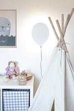 Balloon LED Væglampe Hvid - Globen Lighting
