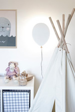 Vägg Balloon Vit Væglampe - Globen Lighting