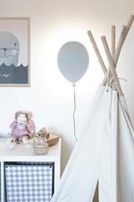 Balloon LED Væglampe Grå - Globen Lighting