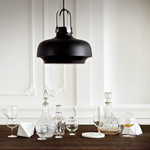 Copenhagen Pendel Lampe mat sort - &tradition