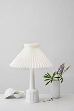 Esben Klint Lamp,small, White, incl. le klint skærm Bordlampe - Rosendahl