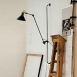 214 Væglampe Sort - Lampe Gras