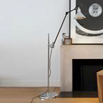 215 Gulvlampe Krom - Lampe Gras