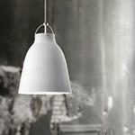 Caravaggio Mat Hvid Pendel Lampe - Light Years