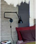 303 Væglampe Sort - Lampe Gras