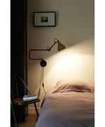 Lampe Gras 303 Væglampe Sort - Gul fra DCW Éditions