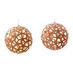 Coral Pendel Lampe - David Trubridge