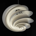 Swirl 1 Pendel Hvid - Le Klint