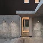 Rørhat Udendørs Væglampe Galvaniseret - Light-Point