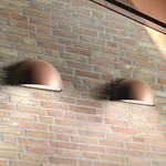 Rørhat Udendørs Væglampe Kobber - Light-Point
