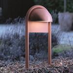 Rørhat Udendørs Stander Enkel - 70 cm Kobber - Light-Point