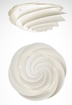 Swirl Loft/Væg - Large - Le Klint