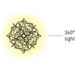 Veli Loftlampe M Hvid - SLAMP