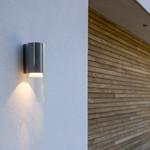 F+P LED Væglampe - Grafitgrå