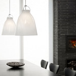 Caravaggio P0 Opal Pendel Lampe - Light Years