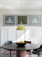 Adjustable Pendel Lampe Matt Gul - Watt A Lamp