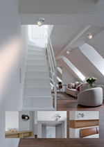Easy W100 LED påbygningsspot 10W Hvid fra Scan Studio