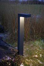 Asker LED Pullert, Grafit - Norlys