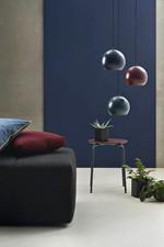 Ball Pendel Lampe - Mørk blå mat Fra Frandsen