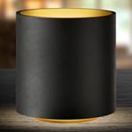 Cozy Round Bordlampe Sort/Guld - LIGHT-POINT