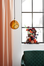 Ballroom Pendel Lampe - Amber/guld - Design By Us