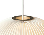 Lamella 1 Pendel Lampe Golden - Fra Le Klint