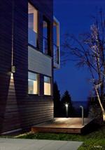 Lillehammer LED Væglampe - Lyser en vej (bred) - Norlys