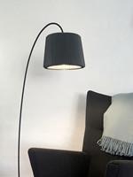 Le Klint 320 Snowdrop Gulvlampe - Anthracite Grey Skærm