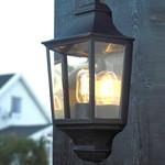 Glasgow Udendørs Væglampe Sort - Norlys