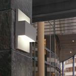 Geneve Udendørs Væglampe Sort - Norlys