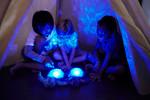 Skildpadde m. lyd og lys fra Scan Style