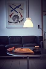 Bikube Pendel m/Sort Ledning - Piet Hein