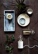 Bristol Bordlampe Walnut Brown Wood fra Frandsen
