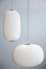 Lamella 2 Pendel Lampe Alu - Fra Le Klint