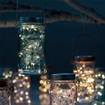Jar Light Røget Kobber - Tivoli Lights
