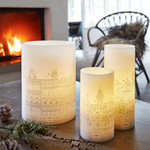 LED Wax Candle Dots 15/20 - TIVOLI LIGHTS