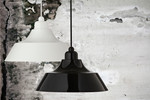 Momentum Pendel Lampe Sort med sort top - Dyberg Larsen