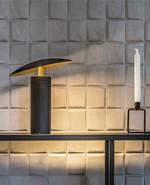 Madison T1 Bordlampe Sort/Gold - LIGHT-POINT