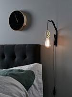 WALL HANGER BLACK Væglampe - Markslöjd