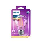 Pære LED 7W Glas (806lm) E27 - Philips
