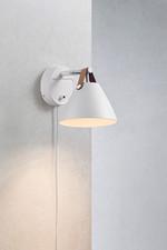Strap 15 Væglampe - Hvid fra Nordlux