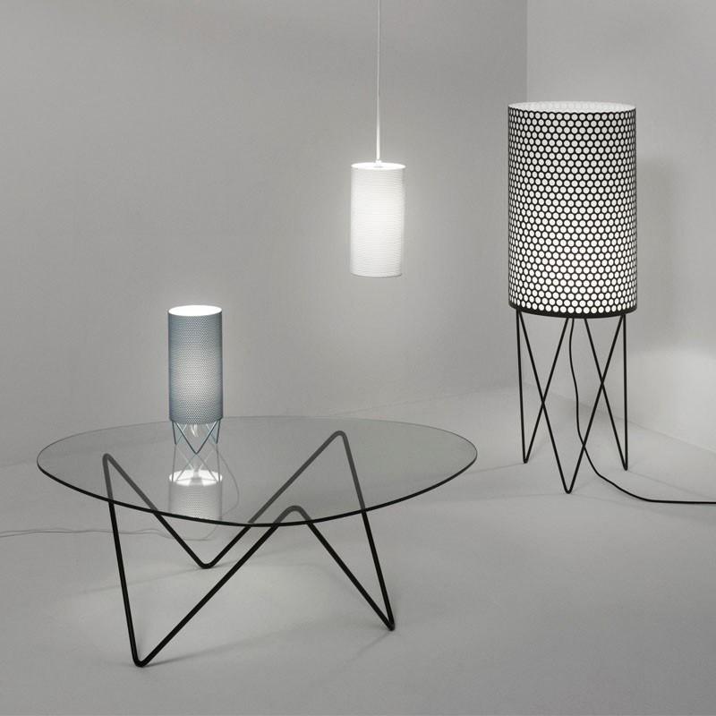 pd2 gulvlampe sort gubi k b online designlite. Black Bedroom Furniture Sets. Home Design Ideas