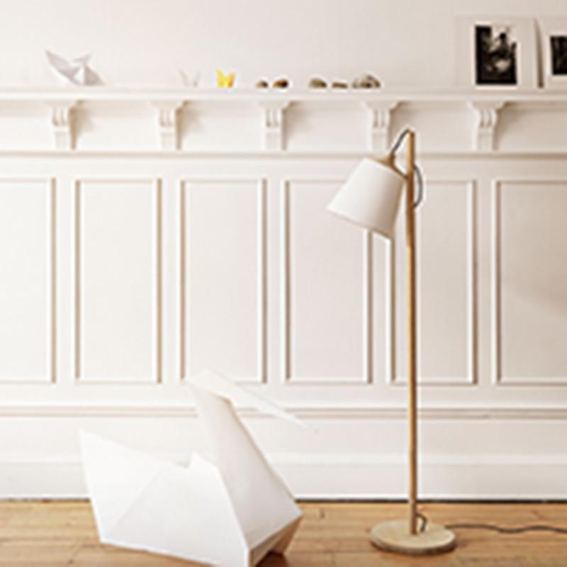 Pull Golvlampa Oak White Muuto u2013 Köp online u2013 Designlite
