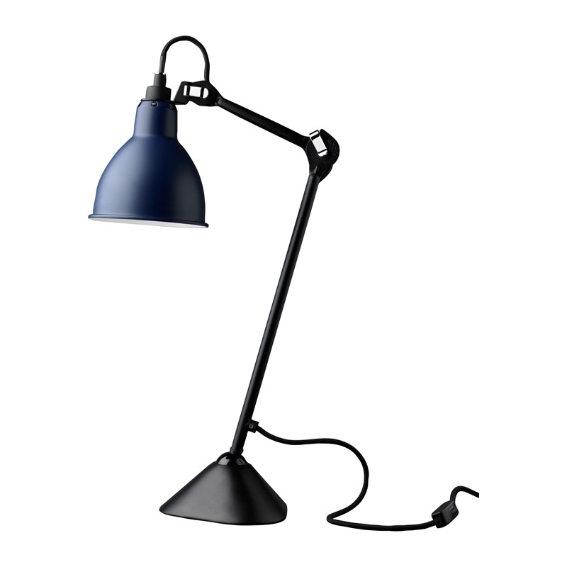 205 Bordslampa Blå Svart Lampe Gras u2013 Köp online