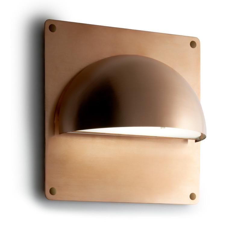 Rorhat Udendors V u00e6glampe Kobber med bagplade Light Point u2013 Kob online u2013 Designlite