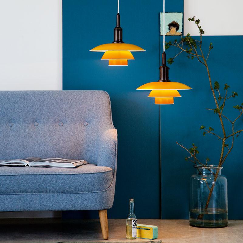 Pendel Lampe Gul