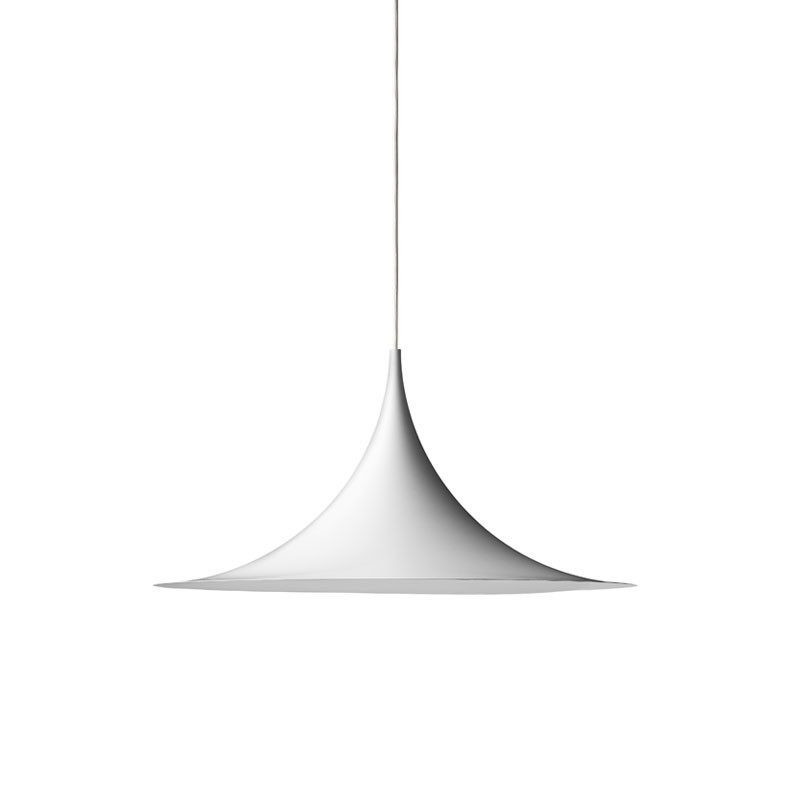 semi pendel 30 mat hvid gubi k b online designlite. Black Bedroom Furniture Sets. Home Design Ideas