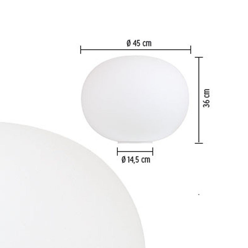 Glo-Ball Basic 2 Bordlampe - Flos