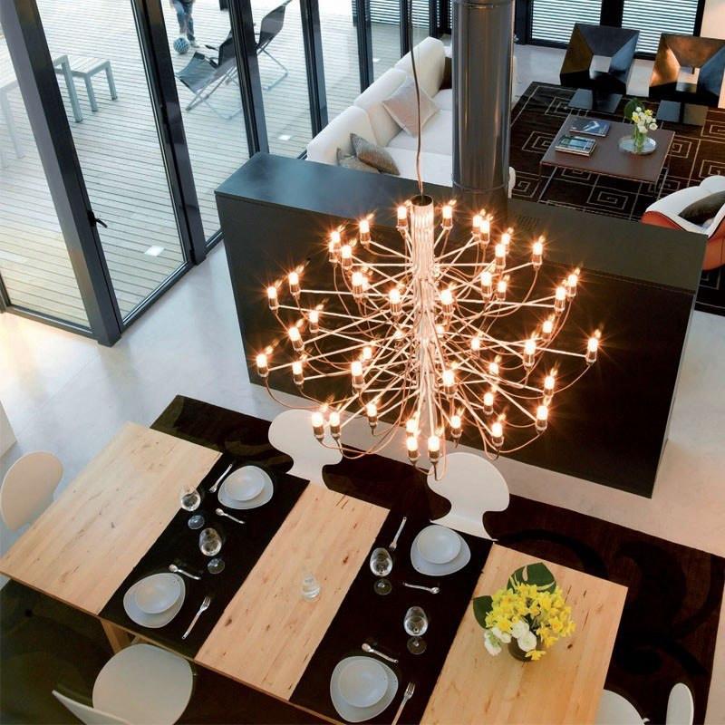 2097 50 pendel lampe fra flos k b online designlite. Black Bedroom Furniture Sets. Home Design Ideas