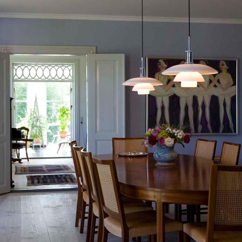 ph 4 4 glas pendel louis poulsen k b online designlite. Black Bedroom Furniture Sets. Home Design Ideas